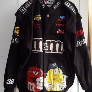 Chace ahutentics Nascar m&m jacket